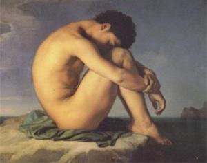 hippolyte-flandrin-hombre-junto-al-mar
